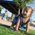 הליכה בקרב תינוקות
